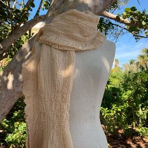 Cozy Peach Colored Scarf